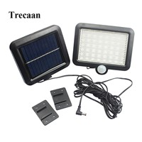 56 LEDs solar lights solar human body sensor wall lights outdoor garden lights solar street lights