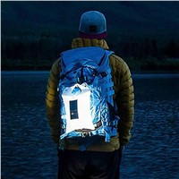 Lumiparty IP65 Waterproof Inflatable Solar Light Portable Solar Lamp Foldable PVC Bag LED Camping Light Emergency LED Lamp