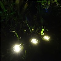 Outdoor LED Solar 2 Leds Buried Solar Powered Underground Lights lampe