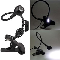 Luminaria USB LED Portable Reading Table Lamp Clip Flexible For Notebook PC Laptop