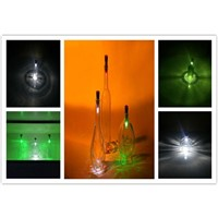 LumiParty LED Bottle Light Cork Shaped Rechargeable Wine Bottle lamp for Party USB Rechargeable LED Night Lights