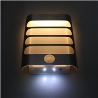 LED Motion Sensor Lamp Light Activated Night Light Wireless USB  Rechargeable Wall Lamp Pure White Warm motion sensor night lamp