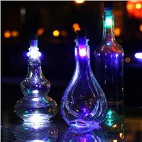 LumiParty USB Rechargeable Magic Cork Shaped Wine Bottle Night light cork stopper cap lamp creative romantic cork lights