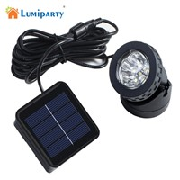 LumiParty Solar Lamp Waterproof Garden Lighting Led Solar Outdoor Light Spotlight Outdoor Landscape Lighting Underwater Lights