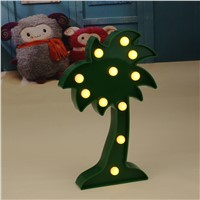 3D LED Night Light  Coconut Tree Light Table Lamp Romantic Desk Wedding DecorationFor Christmas Party Props Children Gifts