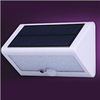 LumiParty Solar Light PIR Motion Sensor  Solar Powered Wall Light Outdoor LED Garden Light Waterproof IP65 Emergency Lamp