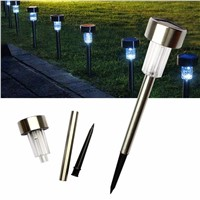 Solar garden Light Lamps for Outdoor  LED Spike Spot Light Landscape Garden Yard Path Lawn Lamps Outdoor Grounding Sun Lamp 1LED