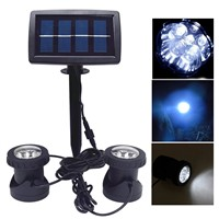 LED Solar light Waterproof Spotlight Outdoor Lighting Courtyard Pool Garden Decoration Lights Underwater Light lampe solaire AA