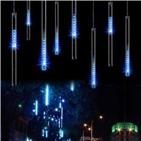 50CM Meteor Shower Rain Tube Snowfall LED Light For Christmas Tree Garden Decoration
