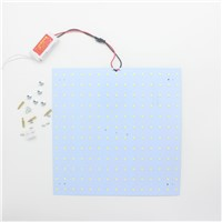 100pcs LED Panel Lamp 50W 180-265V 5730 Magnetic LED Ceiling Panel Light Plate Aluminium Board