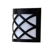 6LED Solar Power Wall Light Lamp Outdoor Fence Door White/Warm White Bright Garden Light Luminaria Lighting