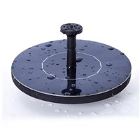 Vioslite Solar Bird bath Fountain Pump for Garden and Patio Free Standing 1.4W Solar Panel Kit Water Pump Outdoor Watering Pump