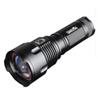 HHTL-WARSUN Tacticsal Flashlight LED T6 1000 lumens AA rechargeable battery 26650 Zoomable Portable Waterproof Hunting Flashli