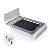 Motion Sensor Solar LED Wall lamps IP65 Outdoor Garden solar wall Light pathway Security light
