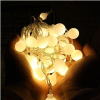 Fairy String Light Ball Shaped Curtain Lamp Party Wedding Outdoor for Party Decoration 7.20