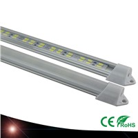 10pcs 30cm 5630SMD DC12V hard rigid bar strip with U aluminum profile shell channel housing cabinet light kitchen light
