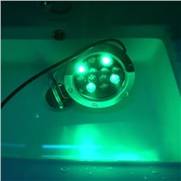 LED underwater lamps RGB underwater spotlight swimming pool fountain high quality