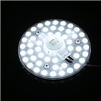 LED Ceiling Module Light Rounded Replace Ceiling Source 48 LEDs Living Room