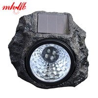 Luz De LED Solar Panel lamps Waterproof led Solar Lights Simulated Stone Lamp Home Luminarias Garden Outdoor Decoration Lighting