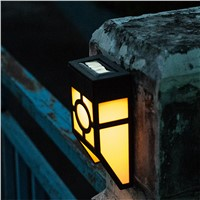 Solar lights outdoor sensor wall lamp garden garden lights waterproof wall fence stairs lights solar road led lights