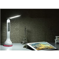 Student Study Reading Lamp Foldable  Desk Lamp with Calendar LED Touch Dimmer Desk Lamp USB Rechargeable