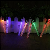 Waterproof 20 LED Solar Powered String Lights LED Fairy Light for Wedding Christmas Party Festival Outdoor Indoor Decoration
