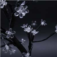 45cm LED Cherry Blossom Bonsai Tree Fairy Twig Lights Table Floor Lamps Desk Light Home Room Night Light Decoration