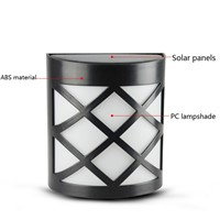 LED Solar Lamp Light Sensor 6 LEDs Street Light Path Roof Corridor Wall Lamp Security Spot Lighting