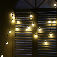 20 LED Window Curtain Lights String Star Lamp House Party Decor Striking For Christmas Party BBQ Wedding
