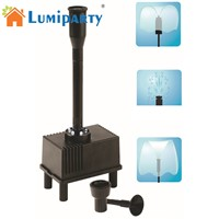 LumiParty LED Light Outdoor Fountain Water Pump Submersible Pump Aquarium Fish Tank Pond Hydroponic Automatical Water Fountains