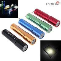 TrustFire MINI-06 Waterproof 1.5V 90LM LED Stainless Steel Waterproof Mini Flashlight + AAA 1.2V 900mAh Battery