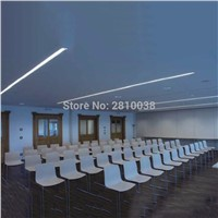10 X 1M Sets/Lot Factory price aluminum profile for led light bar and T profile channel for ceiling or recessed wall lamps