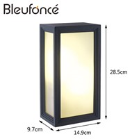 Outdoor Waterproof Wall Lamp LED Wall Sconce Garden lights Outdoor Decoration led Wall lamp 110V/220V Lighting Light