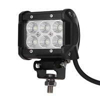 18W LED Work Light for Indicators Motorcycle Driving Offroad Boat Car Tractor Truck 4x4 SUV ATV 12V DC 6500K