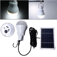 Portable 180Lm 12 Led Solar Energy Charge Light Bulb Outdoor Camping Hiking Emergency Lamp Waterproof