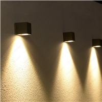 Outdoor 5W COB LED Wall Sconce Light Fixture Waterproof Lamp Building Exterior Walkway Balcony Door