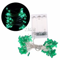 5m 50 LED Waterproof Butterfly Copper Wire Fairy String Lights Battery Operated Xmas Wedding Decor A08_15