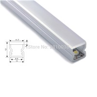 20 X 1M Sets/Lot Super slim aluminium profile for led strips and U type profile led for kitchen led or Cabinet lights