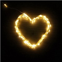 Decorative 10M 100Leds USB LED Copper Wire String Flexible Lights Christmas Festival Wedding Party Decoration T20