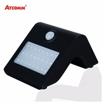 LED Solar Light 24 LEDs 450 Lumen 4 Modes With Motion Sensor IP65 Waterproof SMD 2835 Chip Blue Backlit LED Solar Lamp