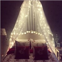 The small lights flashing lights LED romantic bedroom curtain dormitory Hanfeng girl heart room decoration
