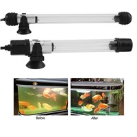 220-250V Pond Pool Aquarium Light Lamp Waterproof Aquarium Fish Tank Submersible Light UV Sterilizer Lamp US Plug
