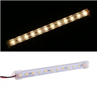 Hard Transparent Light Bar 1M 12LED Strip Bars Transparency Clamp New Arrival