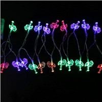 20 LED String Flamingo Fairy Light Christmas Decorative Strip Lamp Party Outdoor  New