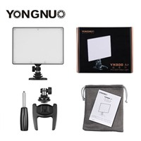 YONGNUO YN300 Air 3200k-5500k YN-300 air Pro LED Camera Video Light with NP-F750 Battery and Charger for Canon Nikon