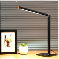 6W Simple Design Dimmable Desk Study Lamp with Alminum Body and Fiberglass Base