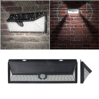 Waterproof 54 LED Solar Light Outdoor Garden Light PIR Motion Sensor Pathway Wall Lamp 3.7V Solar Lamps