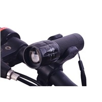 New Portable 3W  Zoomable LED Flashlight Torch Lamp Mini Led Light Lantern Bike Light for Cycling Hiking Camping  Hunting P20