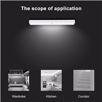 Eletorot 10 LEDS IR Infrared Closet Night Light Motion Sensor Light Automatic Light Sensing Night Light With Motion Sensor