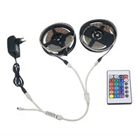 1 Set 10M RGB LED Light Bar Decoration With Remote Control Waterproof White